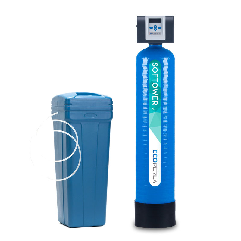 Zmiękczacz wody dwuczęściowy